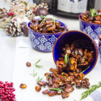 Long pin Mixed Nuts - Sweet and Spicy