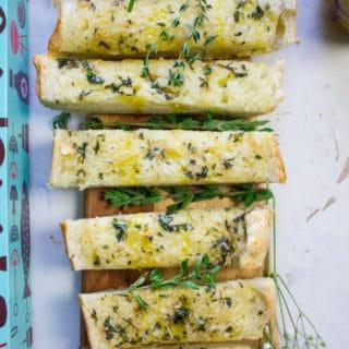 Long Pin for Ultimate garlic bread