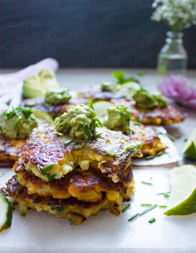 Spicy Corn Fritters