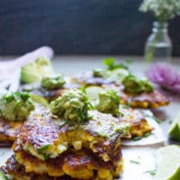 Long Pin for Spicy Corn Fritters