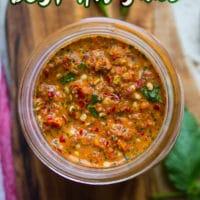Hot pepper Sauce image for pinterest