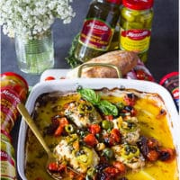 Long pin for Mediterranean Baked fish