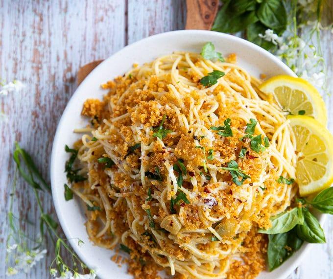 Spaghetti aglio e olio – Olive oil Pasta