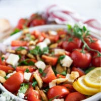 long pin for tomato salad